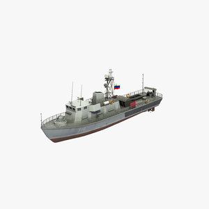 3D model lida class minesweeper