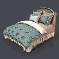 bed 1 3D model
