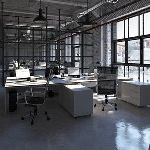 office loft 3D model