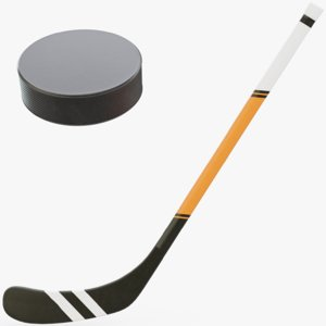 3D hockey stick