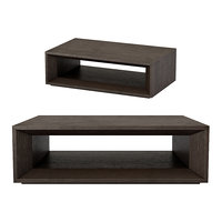 3D model arles rectangular open coffee table