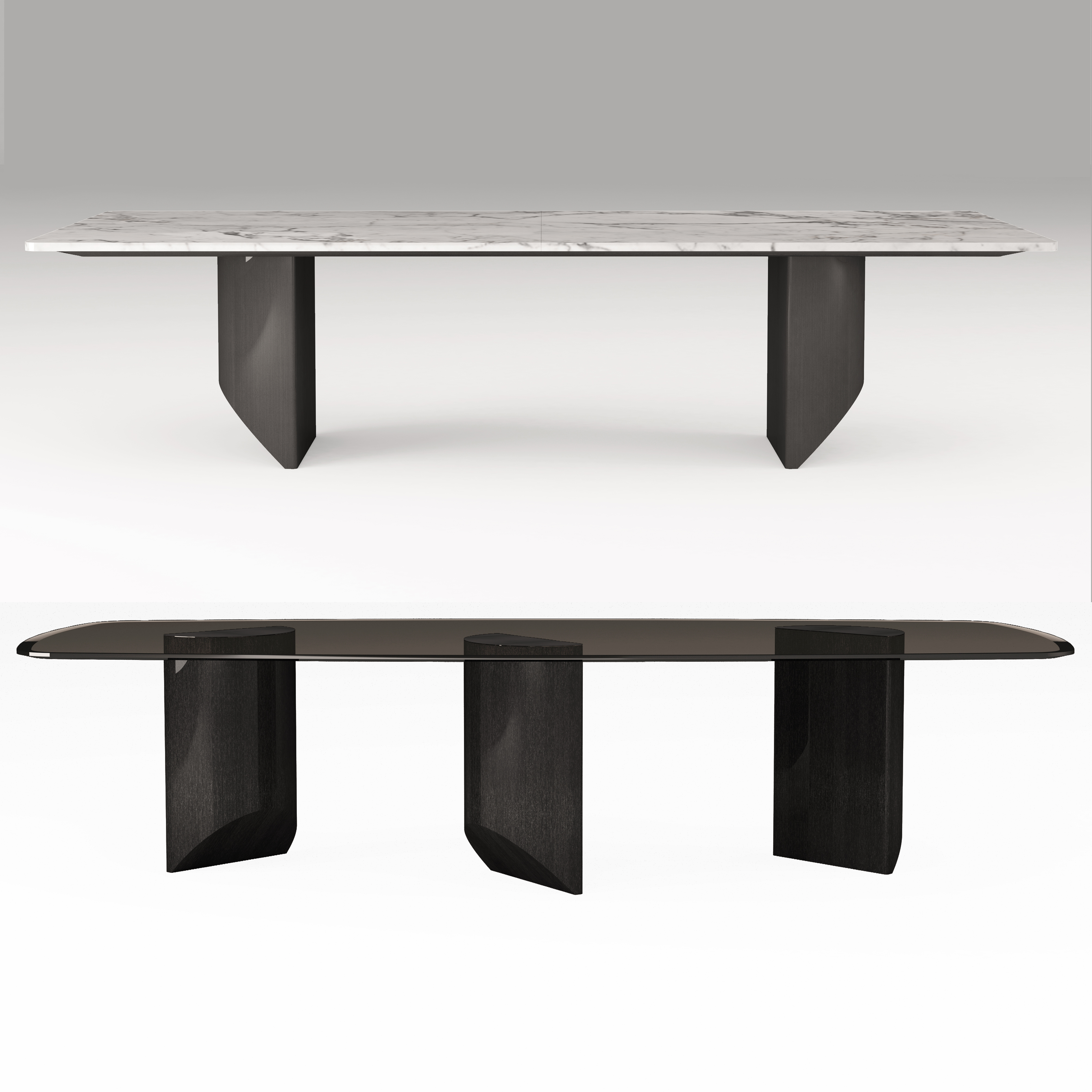 Wedge Dining Table Minotti