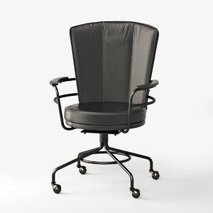 3D metal frame chair office