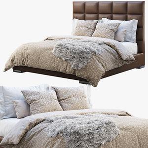 3D model minviso headboard bed