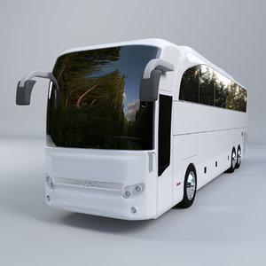 bus mercedes benz 3D model