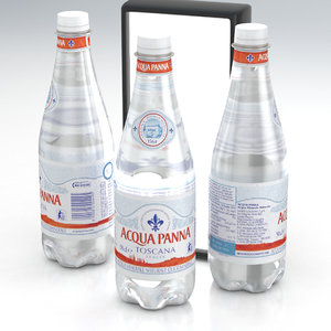 water bottle 3D model