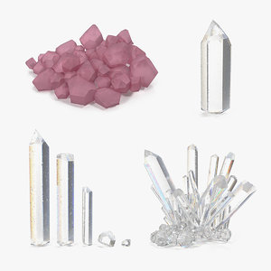 mineral quartz 2 collections model