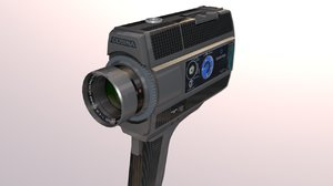 3D super 8 movie camera