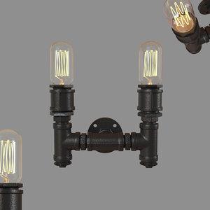 3D loft pipeline loft2123w light