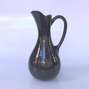 3D jug pitcher