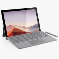 Microsoft Surface Pro 7 and Microsoft Surface Arc 2019