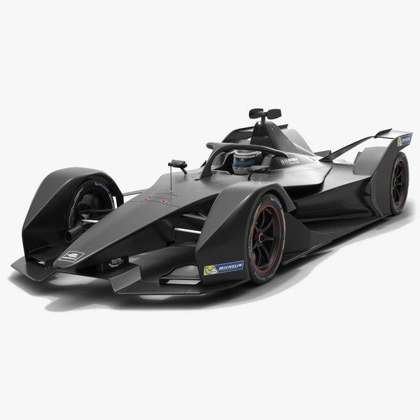 3D model formula e gen2 season