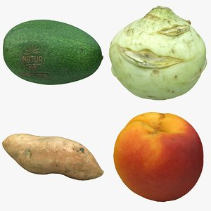scan fruit 3D model