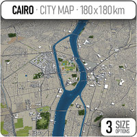 cairo surrounding area - model