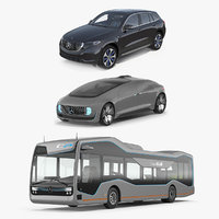 mercedes concept cars 3D