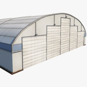 aircraft maintenance hangar airport 3D model