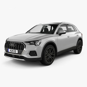 audi q3 advanced 3D model