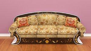 3D nice sofa style