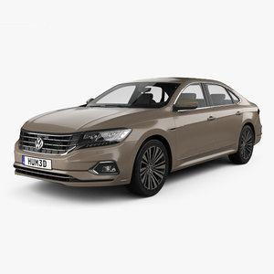 volkswagen passat cn-spec 3D model