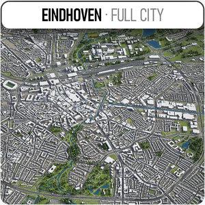 3D eindhoven surrounding area -