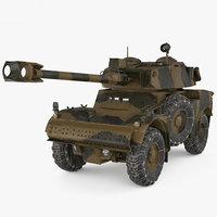 3D model panhard aml-90 aml