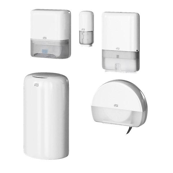 dispensers tork elevation white model