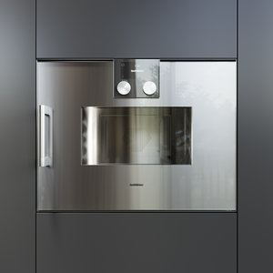 3D gaggenau oven bmp250110 kitchen appliance