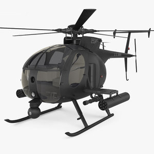md helicopters 3D model