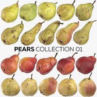 pears 01 - taylors 3D model