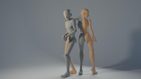 rigify rig 3D
