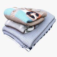 3D pile blankets jumper