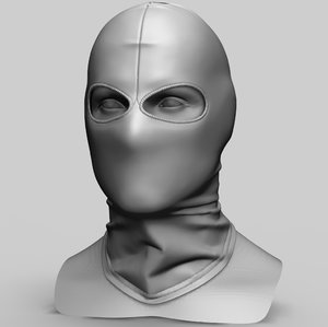 balaclava 3D model