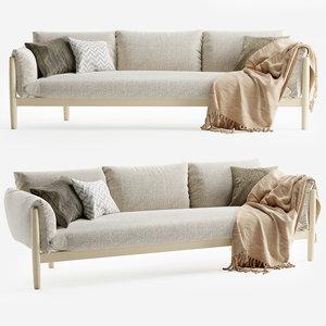 3D tapio sofa paola lenti