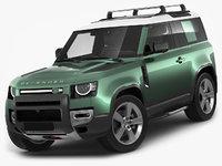 3D land rover defender