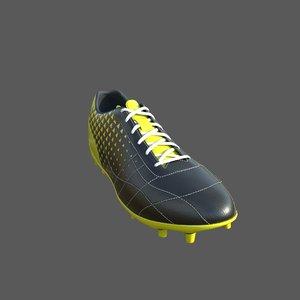 soccer 4k 3D model