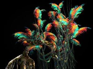pandora jungle 3D model