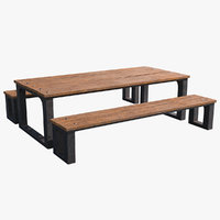 picnic table 1 3D