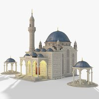 3D gameready mosque