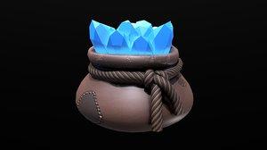 3D assets fantasy vintage