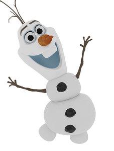 olaf- frozen 3D model
