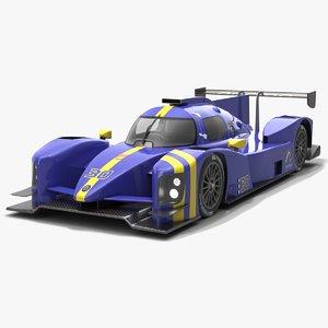 3D norma m30 race car