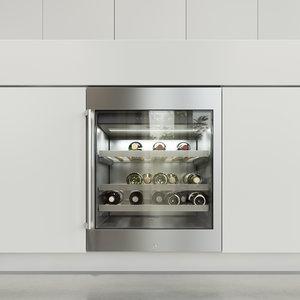 3D gaggenau wine rw402261 refrigerator