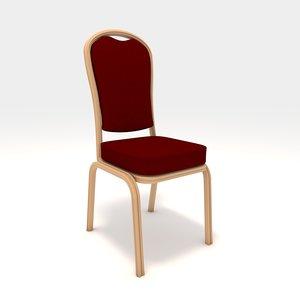 banquet chair 3D model