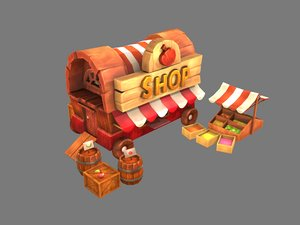 stylized travelling 3D