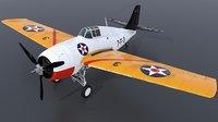 uss - grumman wildcat 3D model
