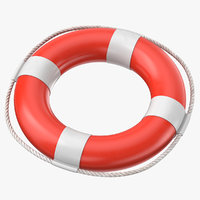 lifebelt help 3D model