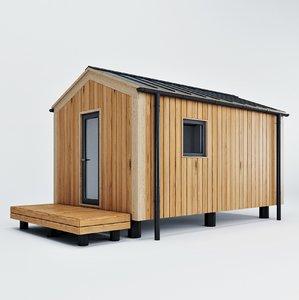 3D model modular house