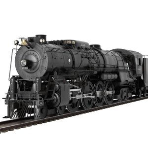 santa fe steam locomotive model