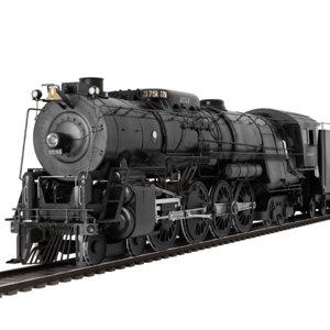 santa fe steam locomotive model