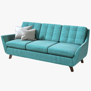 3D realistic joybird eastwood sofa